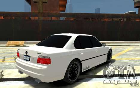 BMW 750i E38 HAMANN for GTA 4 right view