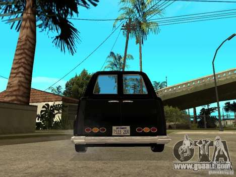 GTA IV TLAD for GTA San Andreas back left view