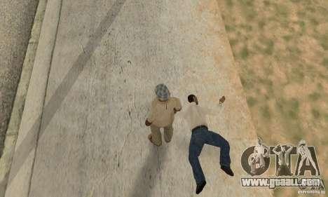 Collision of GTA 4 for GTA San Andreas