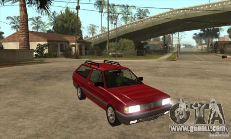VW Parati GL 1994 for GTA San Andreas back view