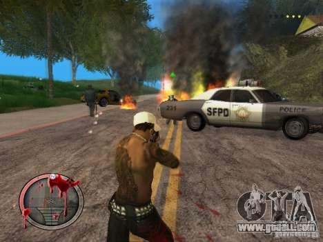 GTA IV HUD Final for GTA San Andreas fifth screenshot