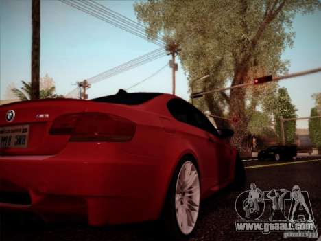 BMW E92 v2 Updated for GTA San Andreas right view