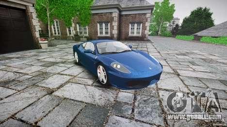 Ferrari F430 v1.1 2005 for GTA 4