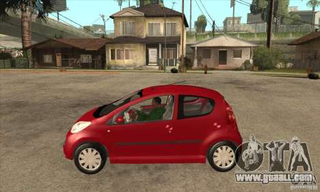 Peugeot 107 for GTA San Andreas left view