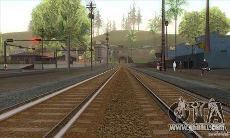 Russian Rail v2.0 for GTA San Andreas second screenshot