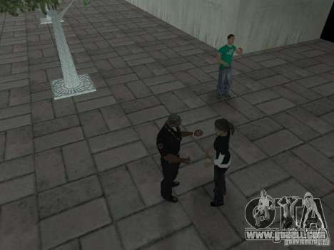 SFnews or the opportunity to give an interview for GTA San Andreas fifth screenshot