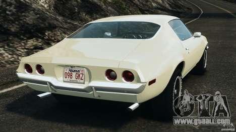 Chevrolet Camaro 1970 v1.0 for GTA 4 back left view
