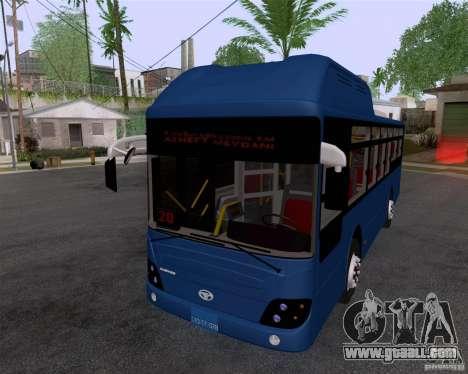 Daewoo Bus BAKU for GTA San Andreas back left view
