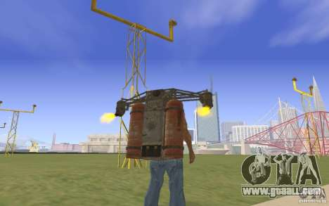 Jetpack in the style of the USSR for GTA San Andreas second screenshot