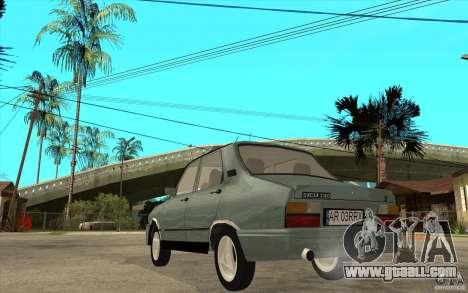 Dacia 1310 L Custom-RK for GTA San Andreas back left view