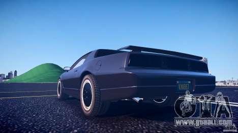 Knight Rider [EPM] for GTA 4 bottom view