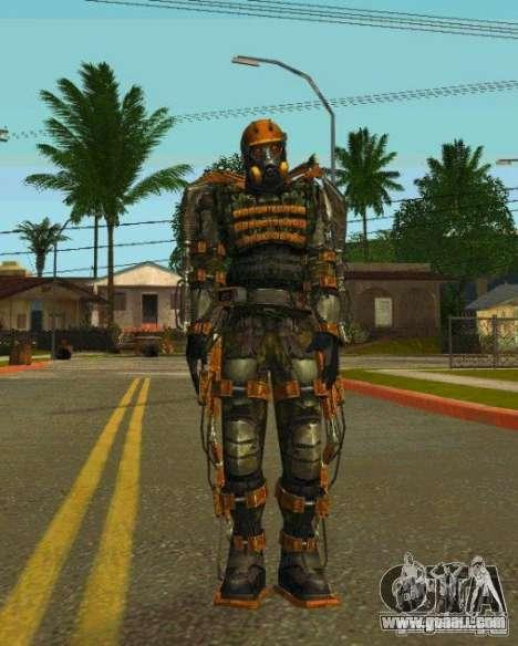 Skins Of S.T.A.L.K.E.R. for GTA San Andreas seventh screenshot