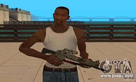 Black Ops crossbow for GTA San Andreas second screenshot