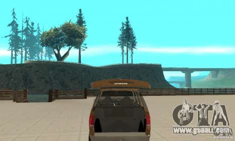 Ford Explorer 2002 for GTA San Andreas side view