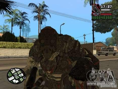 Lokast Grunt from Gears of War 2 for GTA San Andreas second screenshot