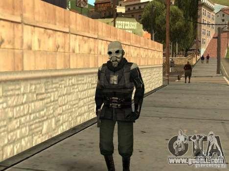 Cops from Half-life 2 for GTA San Andreas second screenshot