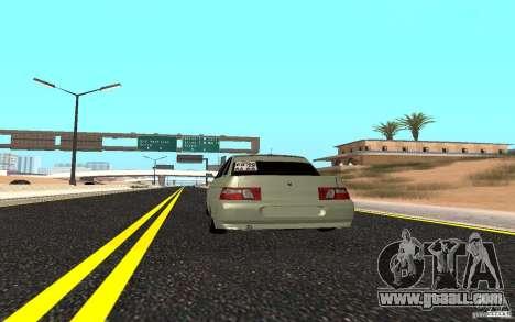 VAZ 2110 Light Tuning for GTA San Andreas back left view
