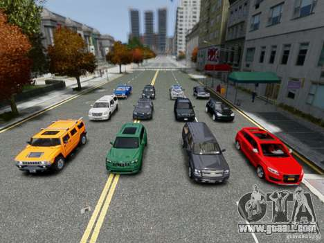 Real Car Pack 2013 Final Version for GTA 4 second screenshot