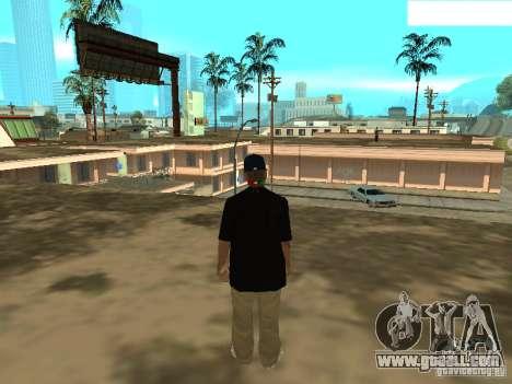 Mexicano Skin for GTA San Andreas third screenshot