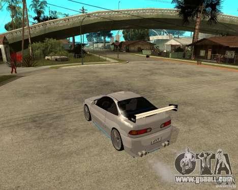 Honda Integra TUNING for GTA San Andreas right view