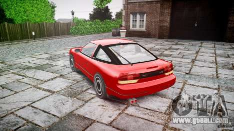 Nissan 240SX for GTA 4 side view