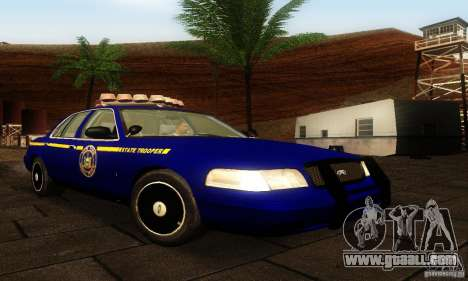 Ford Crown Victoria New York Police for GTA San Andreas