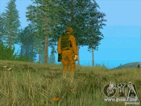 Camo mud Morpeh for GTA San Andreas third screenshot