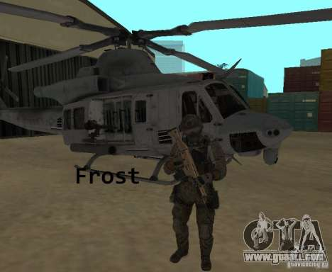 Frost and Sandman for GTA San Andreas second screenshot