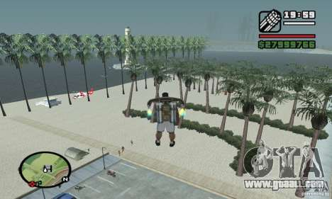 Paradise Beach for GTA San Andreas