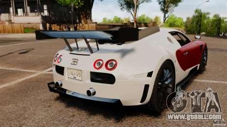 Bugatti Veyron 16.4 Body Kit Final Stock for GTA 4 back left view