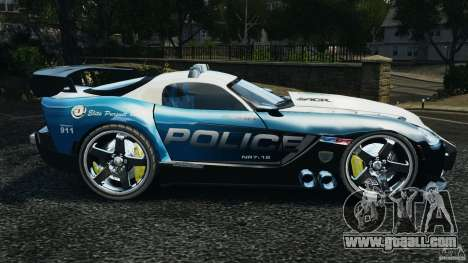 Dodge Viper SRT-10 ACR ELITE POLICE [ELS] for GTA 4 left view