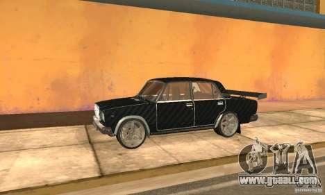 LADA 2107 Turbo for GTA San Andreas