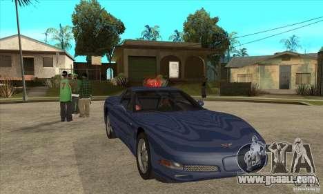 Chevrolet Corvette 5 for GTA San Andreas