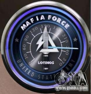 Speedometer-2 for GTA San Andreas