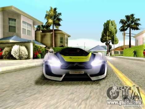 Citroen GT Gymkhana for GTA San Andreas side view