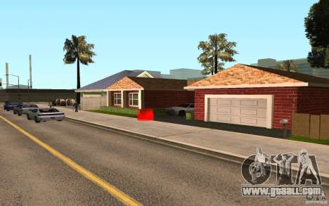 New textures home Millie for GTA San Andreas third screenshot
