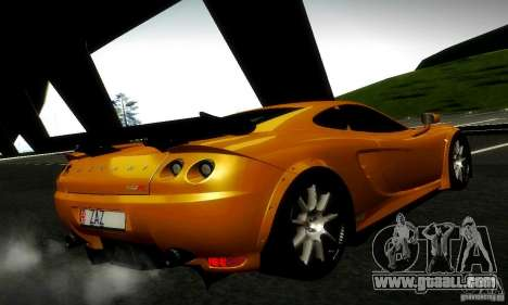 Ascari KZ1R Limited Edition for GTA San Andreas inner view