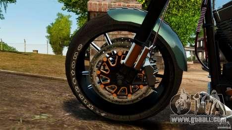 Harley Davidson Fat Boy Lo Racing Bobber for GTA 4 inner view