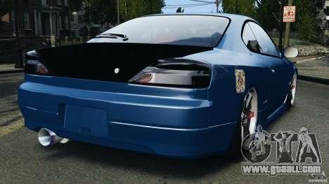 Nissan Silvia S15 JDM for GTA 4 back left view
