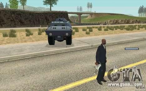 Guard on BTR for GTA San Andreas second screenshot