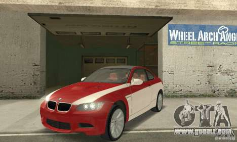 BMW M3 E92 Stock for GTA San Andreas wheels