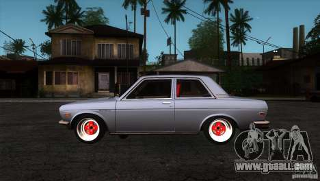 Nissan Datsun 510 for GTA San Andreas left view