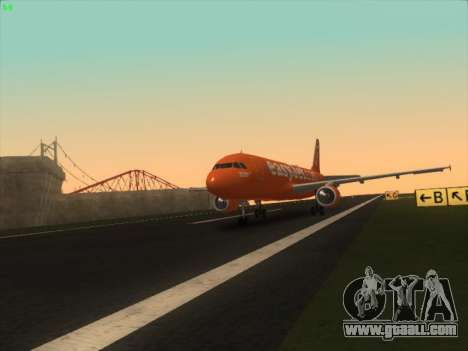 Airbus A320-214 EasyJet 200th Plane for GTA San Andreas