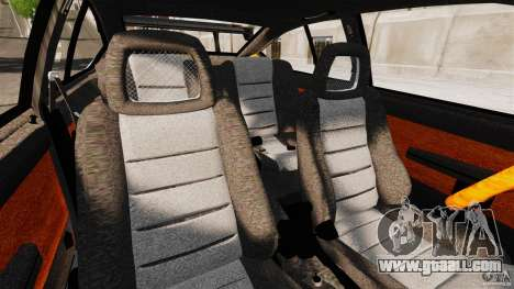 Alfa Romeo GTV6 1986 for GTA 4 inner view