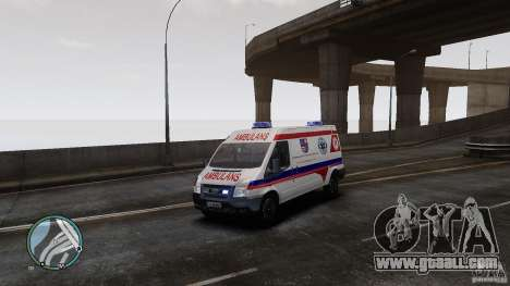 Ford Transit Ambulance for GTA 4