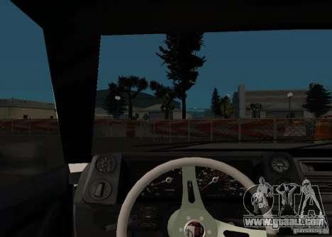 Elegy MIX v2 for GTA San Andreas back view