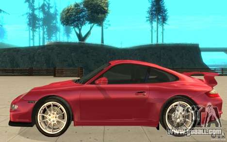 Porsche 911 (997) GT3 v2.0 for GTA San Andreas left view