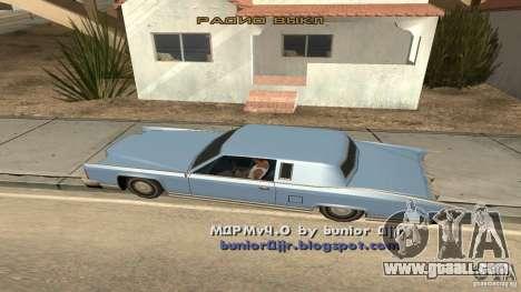 Music car v4 for GTA San Andreas second screenshot