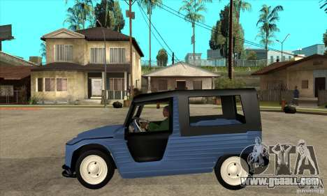 Citroen Mehari for GTA San Andreas left view