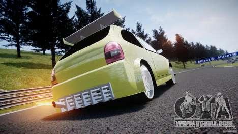 Chevrolet Corsa Extreme Revolution for GTA 4 upper view